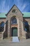 Igreja de Grebbestads, detalhe da porta norte Fotografia de Stock
