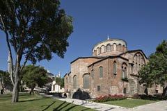 Igreja de Hagia Irene, Istambul, Turquia fotografia de stock royalty free