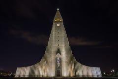 Igreja de Hallgrimskirkja foto de stock royalty free