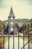Igreja de Hamre, ilha Osteroy Noruega Imagens de Stock