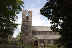 Igreja de Haworth Fotografia de Stock