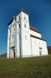 A igreja de Herina/Harina/Monchsdorf, Romania Fotos de Stock Royalty Free