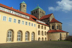 Igreja de Hildesheim - de St Michael Imagem de Stock Royalty Free