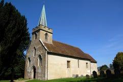 Igreja de Jane Austen, Steventon Imagem de Stock