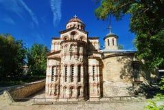 A igreja de John The Baptist Kerch, Crimeia Imagem de Stock Royalty Free