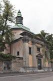Igreja de Krizanke em Ljubljana, Eslovênia Foto de Stock Royalty Free