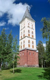 Igreja de Lappeenranta em Finlandia fotografia de stock