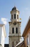 Igreja de Laurentius de Saint em Lokeren em Bélgica fotos de stock royalty free