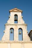 Igreja de Lefkada Grécia Bell Fotos de Stock Royalty Free