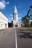 Igreja de Lutheran em Narva, Estónia de Alexander fotografia de stock royalty free