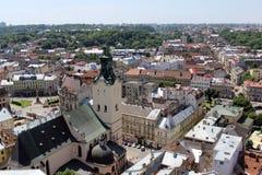 Igreja 2 de Lviv Fotos de Stock Royalty Free