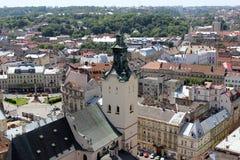 Igreja de Lviv Fotografia de Stock Royalty Free