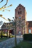 Igreja de Lyngby/Lyngby Kirke Imagens de Stock Royalty Free