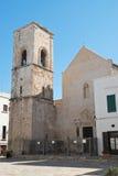 Igreja de mãe de Polignano uma égua Puglia Italy Imagens de Stock