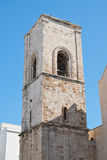 Igreja de mãe de Polignano uma égua Puglia Italy Foto de Stock Royalty Free