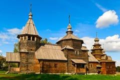 Igreja de madeira Imagens de Stock