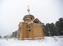 Igreja de madeira Imagem de Stock Royalty Free