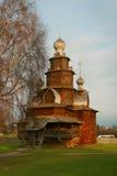 Igreja de madeira Imagens de Stock Royalty Free