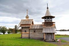 Igreja de madeira em Kizhi imagem de stock