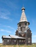 Igreja de madeira ortodoxo fotos de stock royalty free
