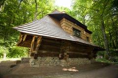 Igreja de madeira velha Fotos de Stock Royalty Free