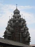 Igreja de madeira velha Imagens de Stock