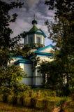 Igreja de madeira velha em Pereyaslav Fotografia de Stock