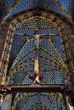 Igreja de Mariacki em krakow Imagens de Stock Royalty Free