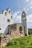 A igreja de Marinella em sardinia Fotografia de Stock Royalty Free