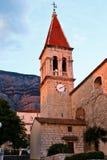 Igreja de Markâs de Saint em Makarska Imagens de Stock Royalty Free
