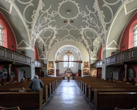 Igreja de Mary a nave da rainha imagem de stock