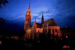 Igreja de Matthias imagens de stock