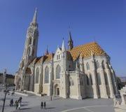 Igreja de Matthias, Budapest Imagem de Stock Royalty Free