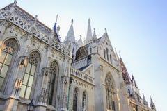 Igreja de Matthias, Budapest Fotografia de Stock