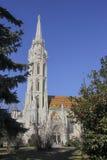 Igreja de Matthias, Budapest Foto de Stock Royalty Free