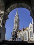 Igreja de Matthias, Budapest Imagem de Stock