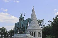 Igreja de Matthias da estátua Imagem de Stock