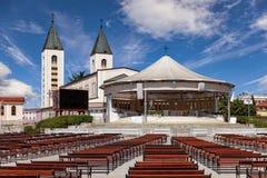 Igreja de Medugorje Imagens de Stock Royalty Free