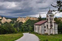 Igreja de Melnik Foto de Stock Royalty Free