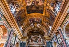 Igreja de Miracoli do dei de Santa Maria, Roma, Itália Fotografia de Stock