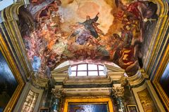 Igreja de Miracoli do dei de Santa Maria, Roma, Itália Imagem de Stock