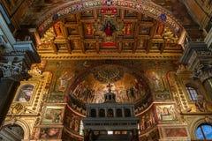 Igreja de Miracoli do dei de Santa Maria, Roma, Itália Imagens de Stock Royalty Free