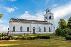 Igreja de Mogata em Ostergotland foto de stock