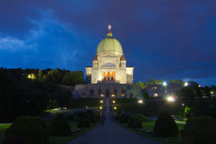 Igreja de Montreal Fotos de Stock Royalty Free