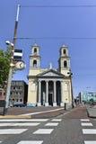 Igreja de Moses & de Aäron no quadrado de Waterloo, Amsterdão, Países Baixos Imagens de Stock Royalty Free