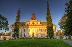 A igreja de Mustasaari, Finlandia Fotos de Stock Royalty Free