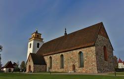 Igreja de Nederluleå Fotografia de Stock