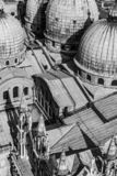 Igreja de negligência de Marcus em Veneza do campanile de San Marco foto de stock