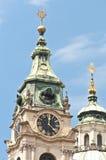 Igreja de Nicholas de Saint em Praga Imagem de Stock Royalty Free