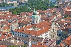Igreja de Nicholas de Saint em Praga Imagens de Stock